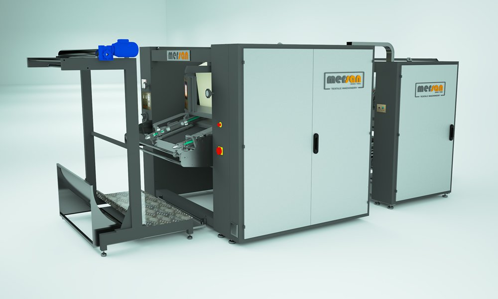 Non-Stop 605 Compactor for Tubular Knitted Fabric